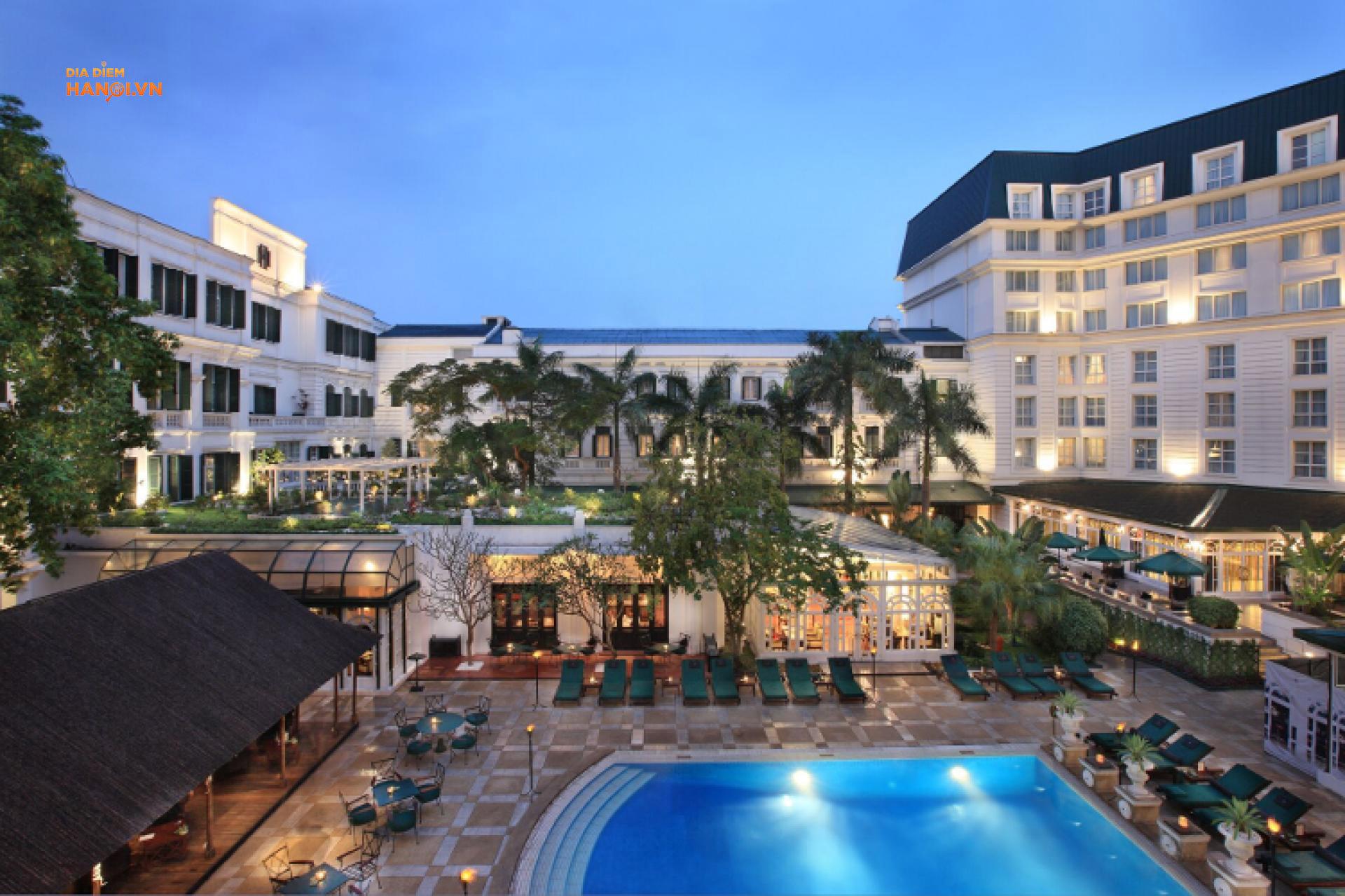 Thiết kế sang trọng của khách sạn